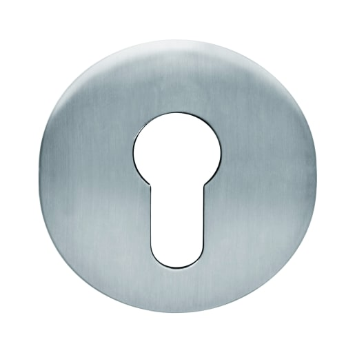dormakaba Euro Profile Escutcheon 8 x 54mm Satin Stainless Steel