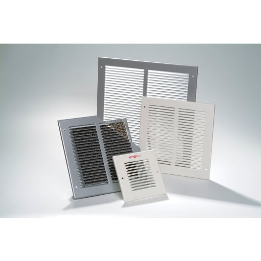 Astroflame Air Transfer Louvered Face Plate 250 x 250mm