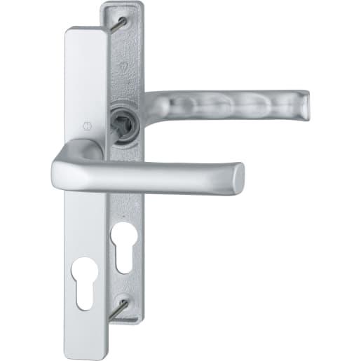 HOPPE Duraplus London Handle 205 x 27mm Aluminium Silver