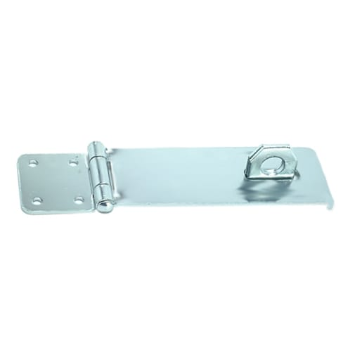 A Perry No.HS617 Hasp and Staple 75mm Zinc Plated