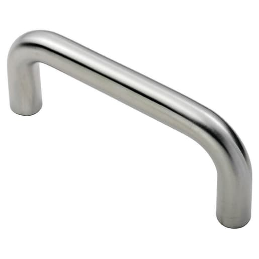 Eurospec D-Shaped Pull Handle 64 x 19mm Satin Stainless Steel