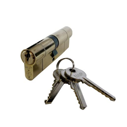 UAP High Security Euro Thumbturn Cylinder Lock 45-10-45 100mm L