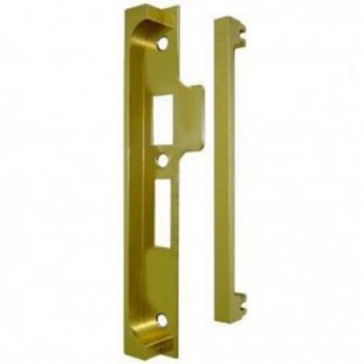 Union 2969 Rebated Component Pack 13mm Polished Brass