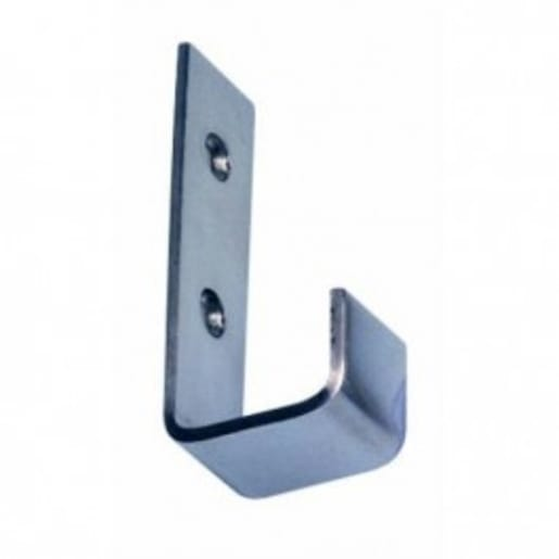 Frisco Eclipse Single Robe Hook 63mm H Satin Stainless Steel