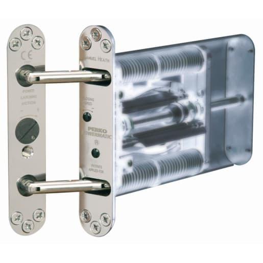 Perko Powermatic Adjustable Door Closer Polished Chrome